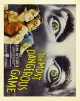 The Most Dangerous Game movie poster (1932) picture MOV_8366b11d