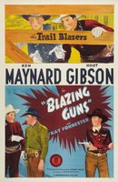 Blazing Guns movie poster (1943) picture MOV_83675622
