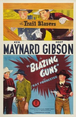 Blazing Guns movie poster (1943) poster MOV_83675622