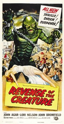 Revenge of the Creature movie poster (1955) poster MOV_836e177c