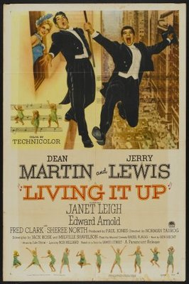 Living It Up movie poster (1954) poster MOV_837c0e8c
