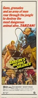 Tarzan's Deadly Silence movie poster (1970) picture MOV_837c829a