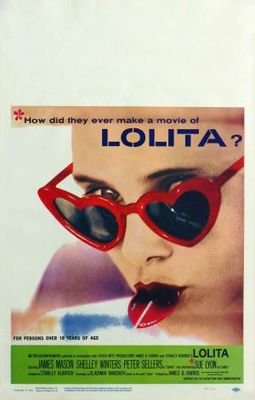 Lolita movie poster (1962) poster MOV_83883202