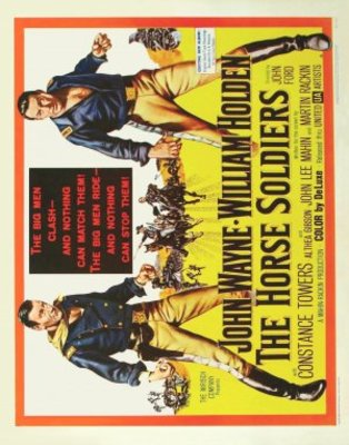 The Horse Soldiers movie poster (1959) poster MOV_83a1f2be