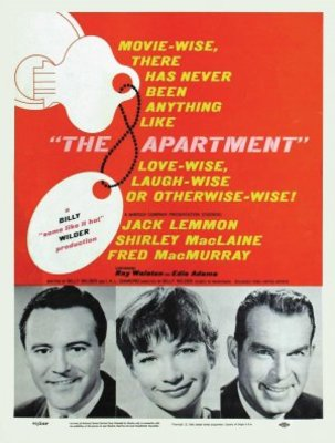 The Apartment movie poster (1960) poster MOV_83b34538