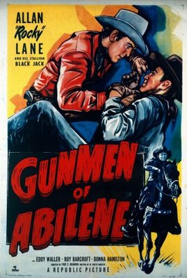 Gunmen of Abilene movie poster (1950) poster MOV_83cf9f56