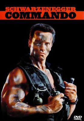 Commando movie poster (1985) poster MOV_83f4db8a