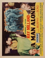 A Man Alone movie poster (1955) picture MOV_84018fb9