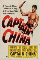 Captain China movie poster (1950) picture MOV_8411e7f9