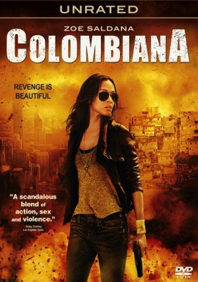 Colombiana movie poster (2011) Photo. Buy Colombiana movie ... Zoe Saldana Colombiana Poster