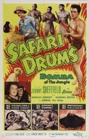 Safari Drums movie poster (1953) picture MOV_8435362a