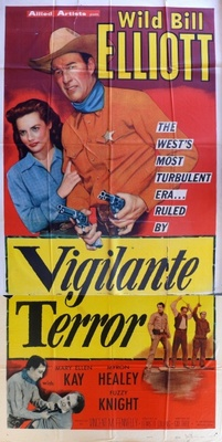 Vigilante Terror movie poster (1953) poster MOV_843c58f3
