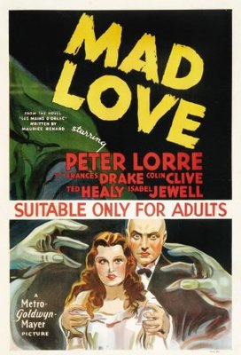 Mad Love movie poster (1935) poster MOV_84431f3c