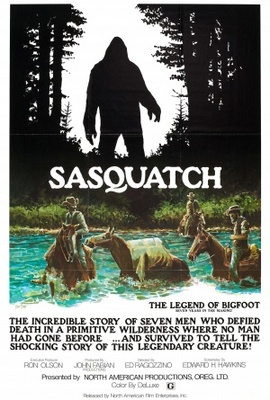 Sasquatch, the Legend of Bigfoot movie poster (1977) poster MOV_846c49a8