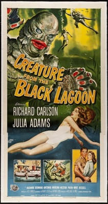 Creature from the Black Lagoon movie poster (1954) poster MOV_8497579e