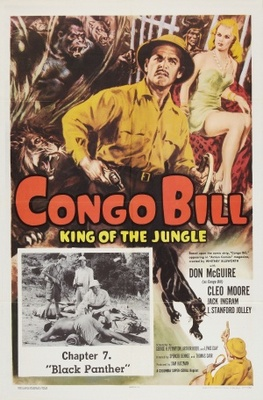Congo Bill movie poster (1948) poster MOV_849bef38