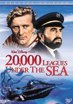 20000 Leagues Under the Sea movie poster (1954) poster MOV_849f3544