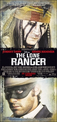 The Lone Ranger movie poster (2013) poster MOV_84a24f21