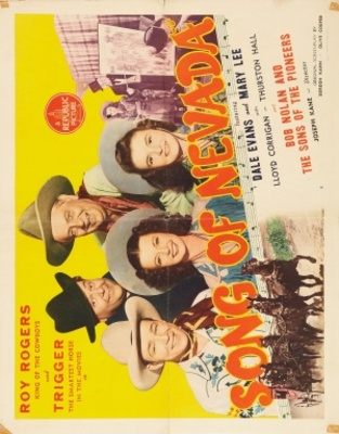 Song of Nevada movie poster (1944) poster MOV_84adcba5