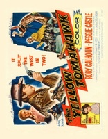 The Yellow Tomahawk movie poster (1954) picture MOV_84af5123
