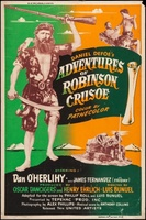 Robinson Crusoe movie poster (1954) picture MOV_84bd1482