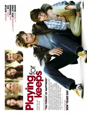 Playing for Keeps movie poster (2012) poster MOV_84bd2af3