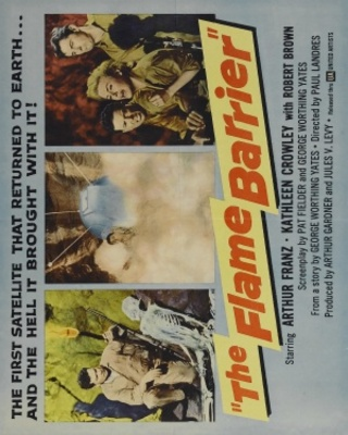 The Flame Barrier movie poster (1958) poster MOV_84c20dda