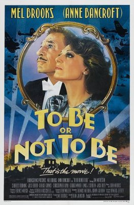 To Be or Not to Be movie poster (1983) poster MOV_84c798fb