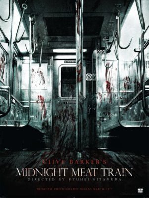 The Midnight Meat Train movie poster (2008) poster MOV_84d74825