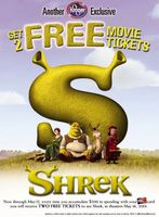 Shrek movie poster (2001) picture MOV_84ed7026