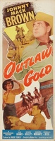 Outlaw Gold movie poster (1950) picture MOV_84f53564