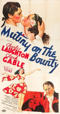 Mutiny on the Bounty movie poster (1935) poster MOV_84f8a088