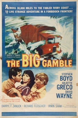 The Big Gamble movie poster (1961) poster MOV_84f8aadf