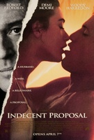 Indecent Proposal movie poster (1993) picture MOV_850ae725
