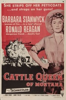 Cattle Queen of Montana movie poster (1954) picture MOV_8554e78a
