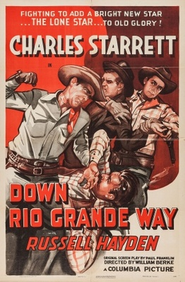 Down Rio Grande Way movie poster (1942) poster MOV_8557c564