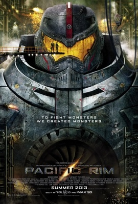 Pacific Rim movie poster (2013) poster MOV_8561742a