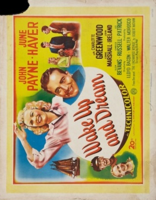 Wake Up and Dream movie poster (1946) poster MOV_856e0edf