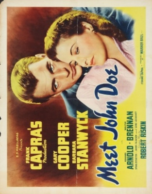 Meet John Doe movie poster (1941) poster MOV_857df865