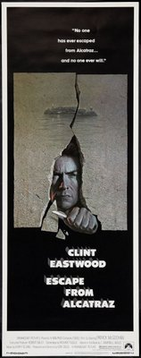 Escape From Alcatraz movie poster (1979) poster MOV_857e5d61
