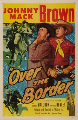 Over the Border movie poster (1950) poster MOV_857e850d