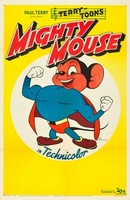 Mighty Mouse in Krakatoa movie poster (1945) picture MOV_85803e1a