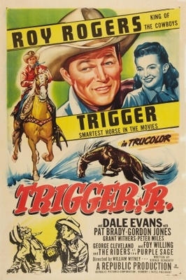 Trigger, Jr. movie poster (1950) poster MOV_8599f733