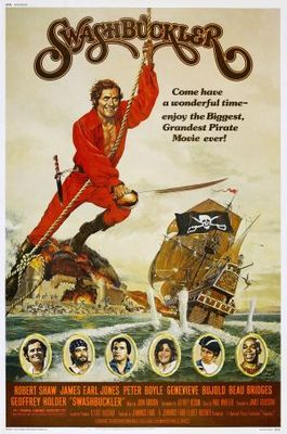 Swashbuckler movie poster (1976) poster MOV_85c4fa24