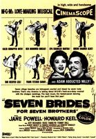 Seven Brides for Seven Brothers movie poster (1954) picture MOV_85d0b141