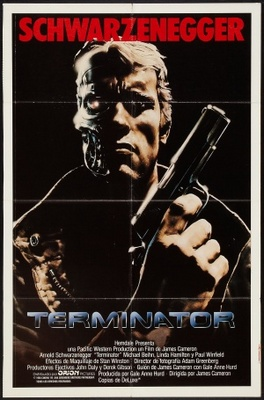 The Terminator movie poster (1984) poster MOV_85d1a5ad