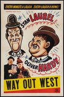 Way Out West movie poster (1937) picture MOV_85dc736e