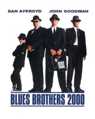 Blues Brothers 2000 movie poster (1998) poster MOV_85e60357