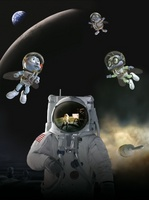 Fly Me to the Moon movie poster (2008) picture MOV_86028c77