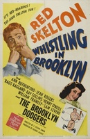 Whistling in Brooklyn movie poster (1943) picture MOV_861bbbe5